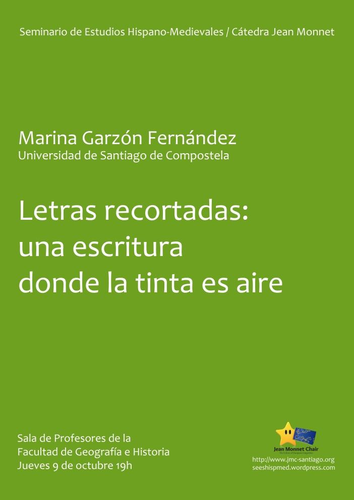 SEHM 2014-10-09 Marina Garzón